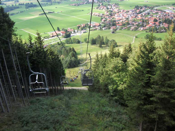 Buchenberg double chairlift